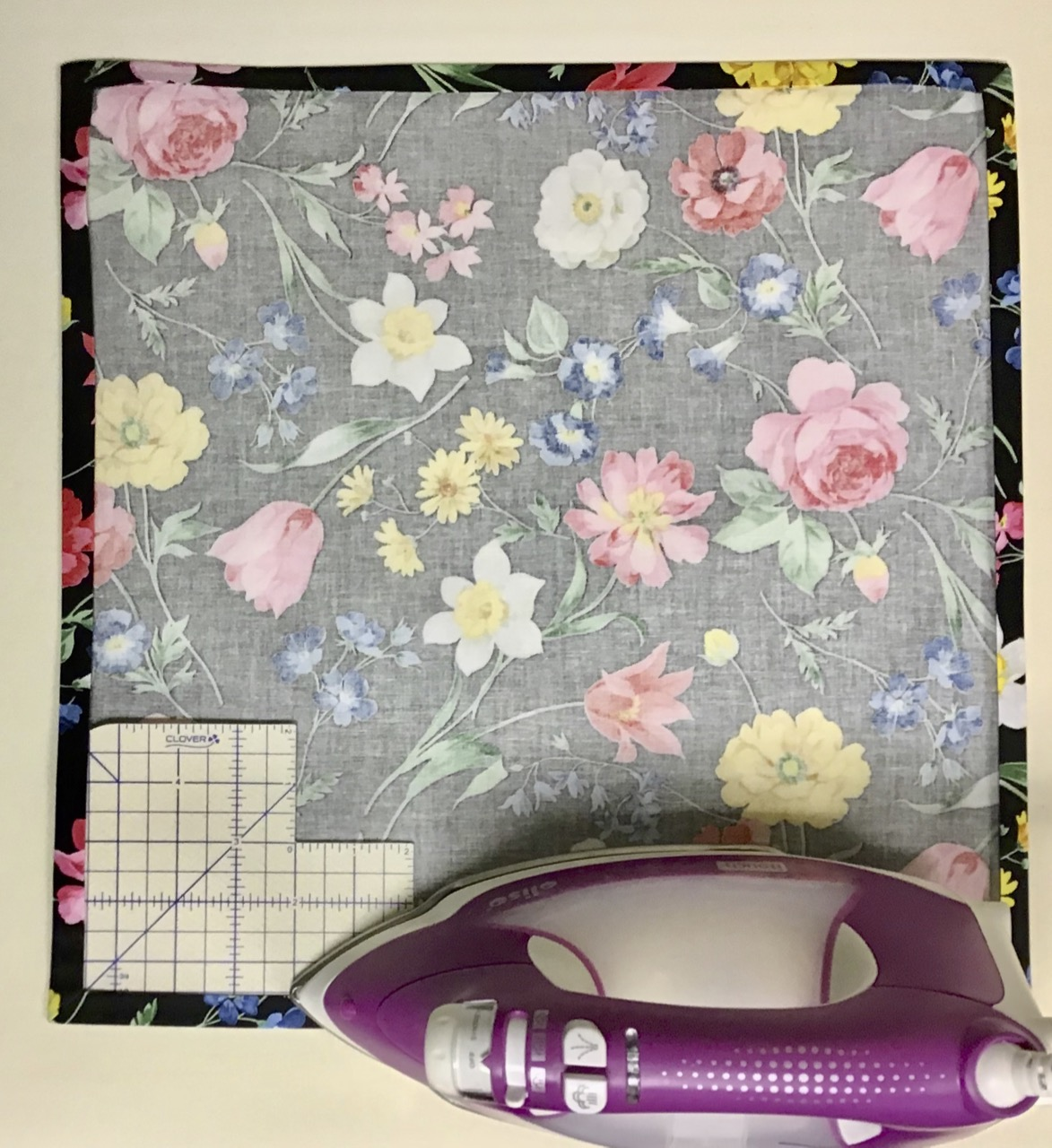 Sew No-Hassle Dinner Napkins with Nancy Zieman's Mitered Corners