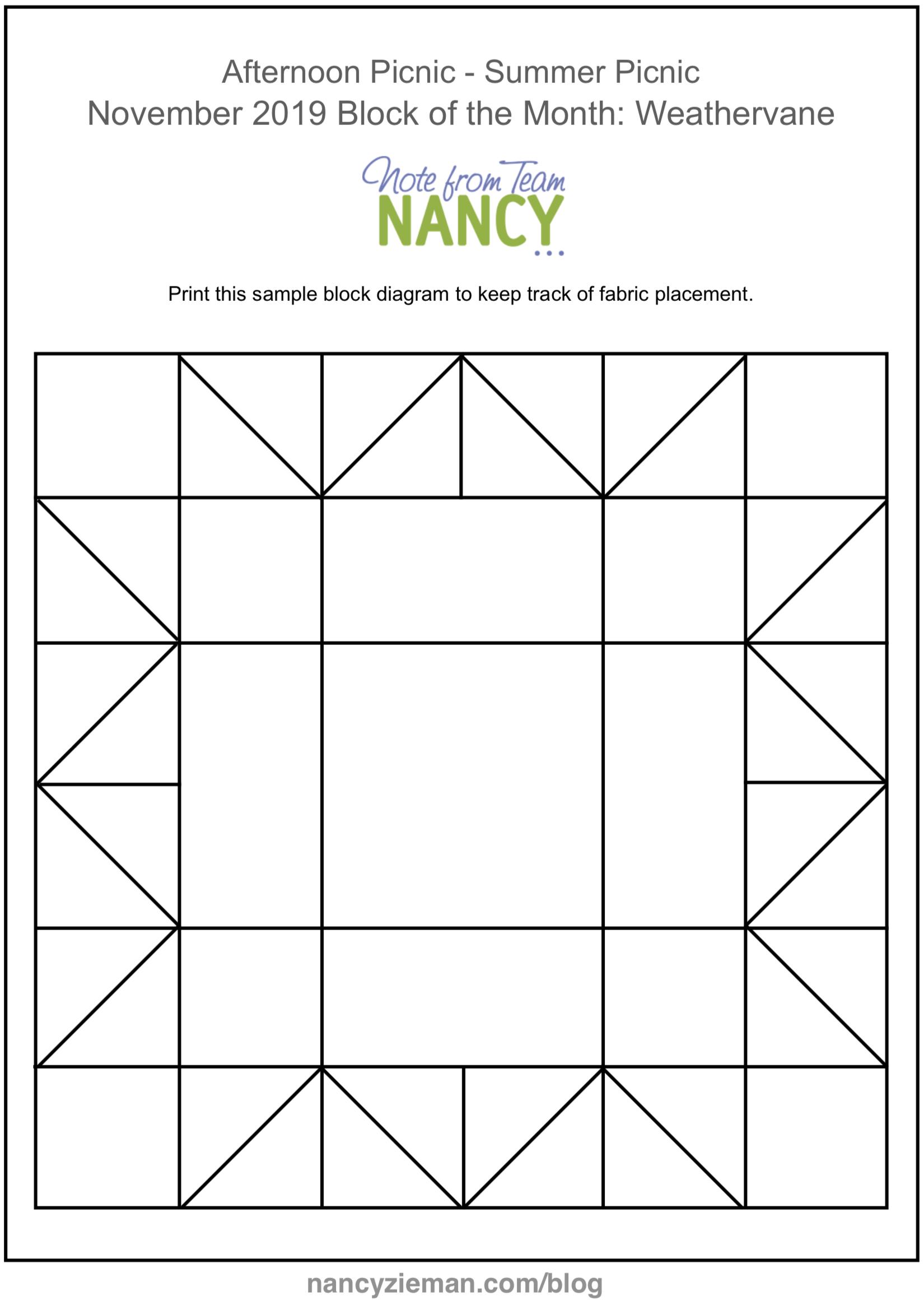 November Block of Month PDF