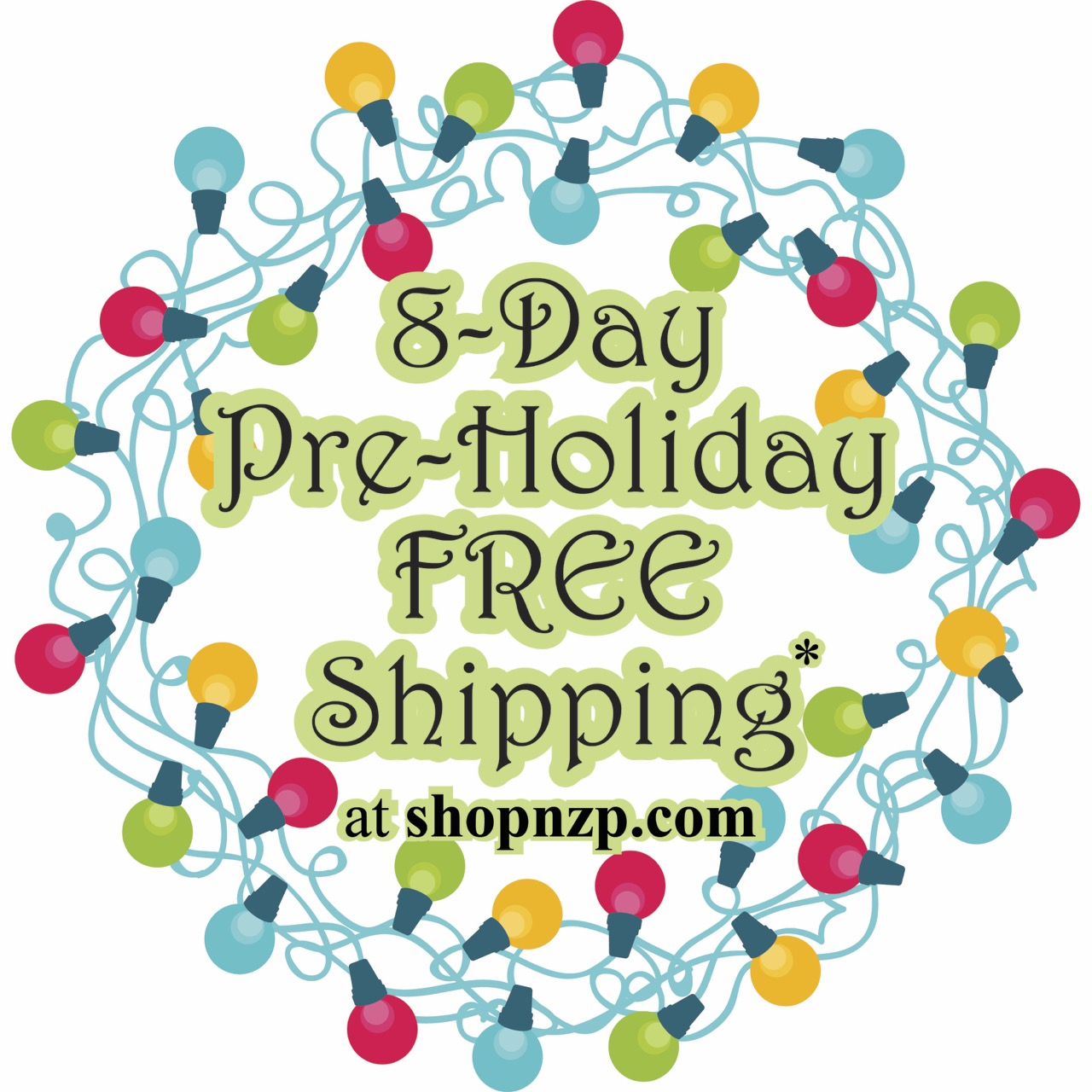 8-Day Pre-Holidays Sale Nov. 26 through Dec 3, 2019 at shopnzp.com. Save 10%-40% Off Select Sewing Products *plus FREE shipping. *Standard free shipping applies to US residents in the 48 contiguous states.