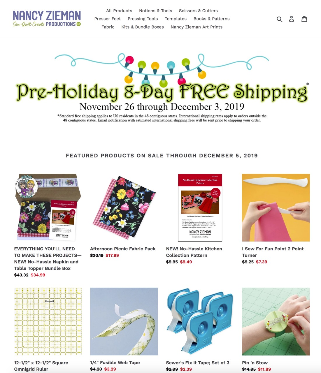 Shop the New NZP Online Store by Nancy Zieman Productions at shopnzp.com