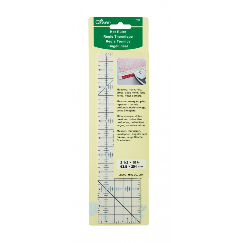 Clover's Hot Ruler available at Nancy Zieman Productions at ShopNZP.com