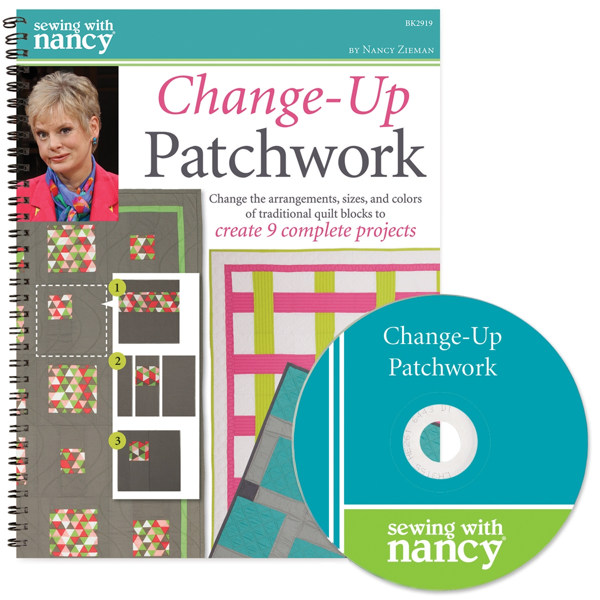 Change Up Patchwork Book and DVD