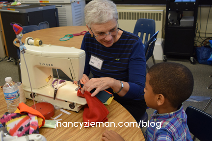 Watch Nancy Zieman's 5-minute Nancy's Corner Interview on Sewing With Nancy with Nancy Daly's Hat Ladies