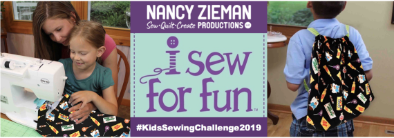 I Sew For Fun Kids' Sewing Challenge sponsored by Nancy Zieman Productions