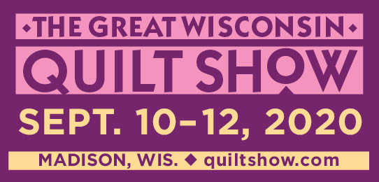 The Great Wisconsin Quilt Show in Madison Wisconsin quiltshow.com