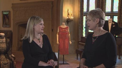 Downton Abbey Eveningwear Fashions at the Paine Art Center in Oshkosh Wisconsin on Sewing With Nancy