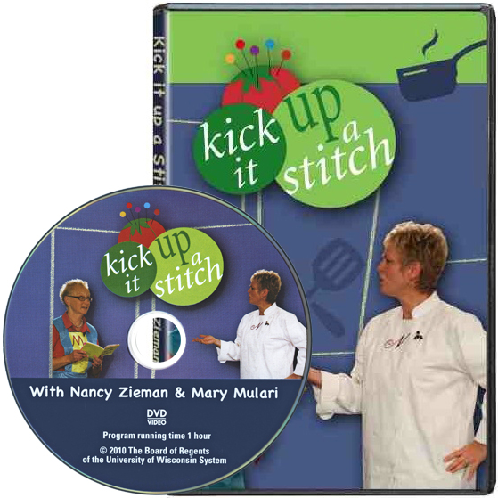 KIUSDVD 12 Kick It Up a Stitch DVD