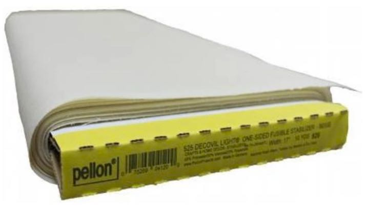 Pellon Decovil One-Sided Fusible Stabilizer available at Nancy Zieman Productions at ShopNZP.com