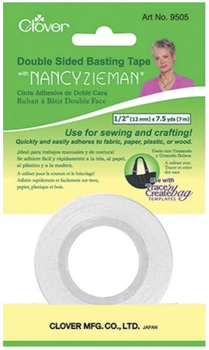 Clover's Double Sided Basting Tape available at Nancy Zieman Producitons ShopNZP.com