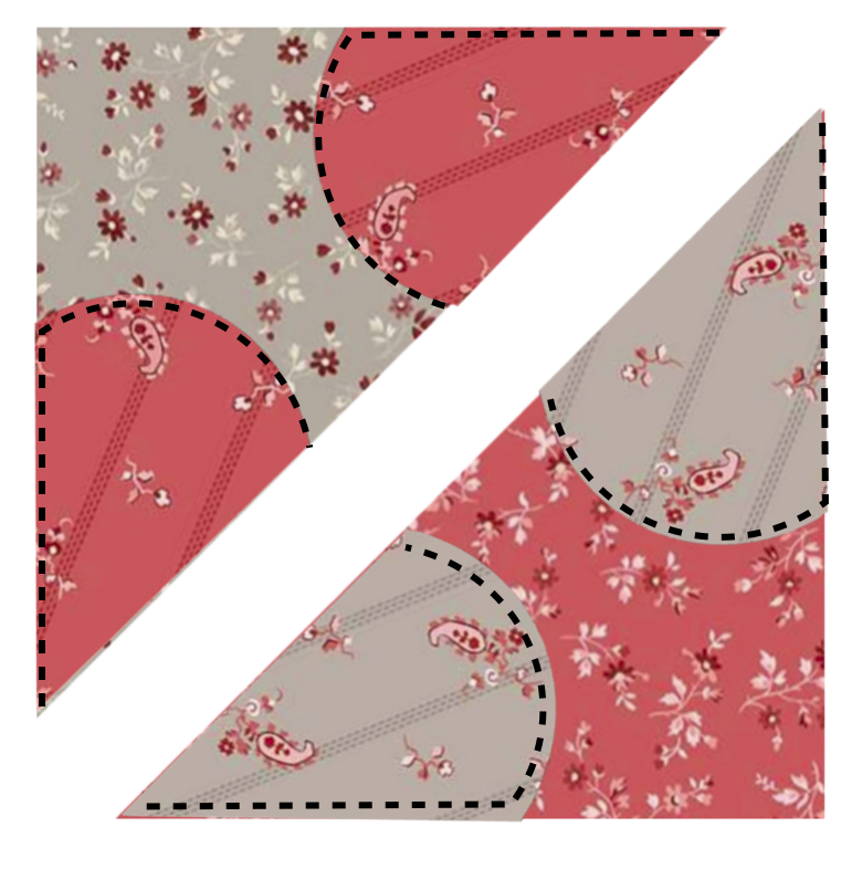 February 2020 NZP Block of the Month: Hearts and Gizzards Block