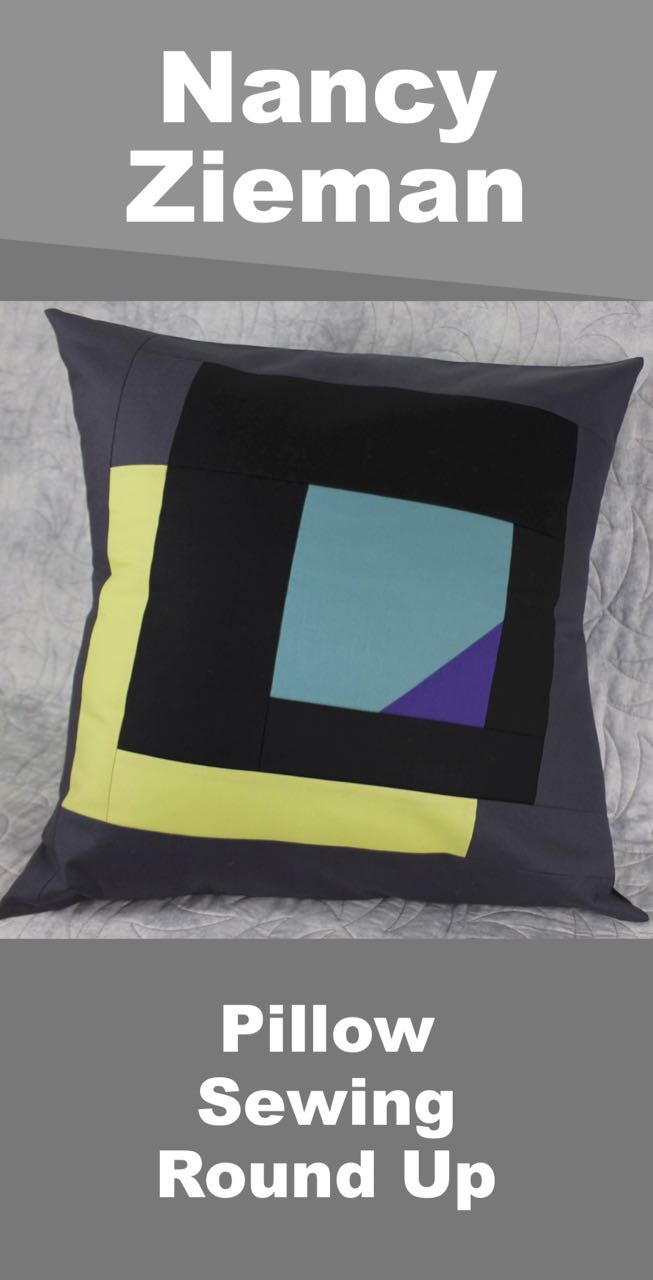 Nancy Zieman Pillow Sewing Round Up