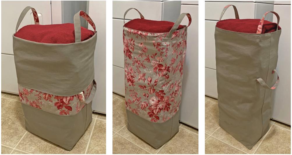 NEW! Big-Bigger Laundry Bag Tutorial