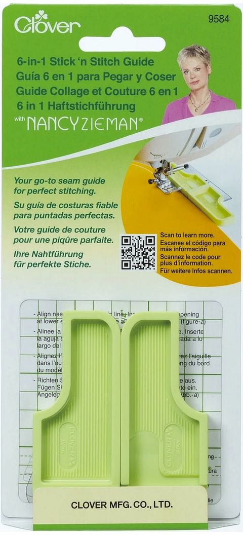 Clover 6-in-1 Stick 'n Stitch Guide