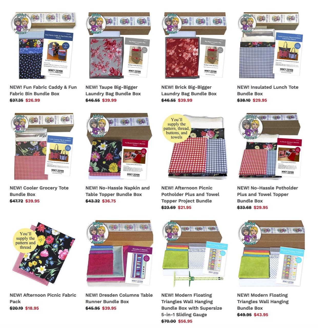 Shop Quilt Kits & Bundles Available at shopnzp.com