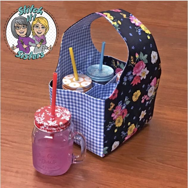 NEW! Stitch it! Sisters Sew a Fun Fabric Caddy Bundle Box available at shopnzp.com