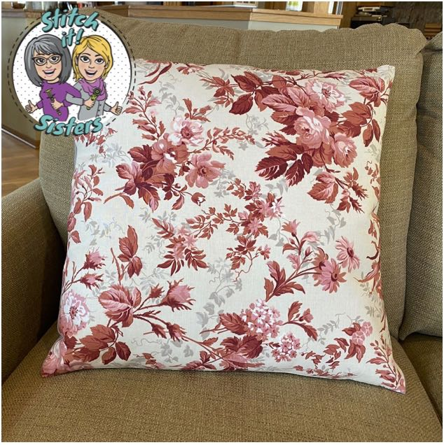 Nancy Zieman's Absolute Easiest Way to Sew Pillows Palette Pillow