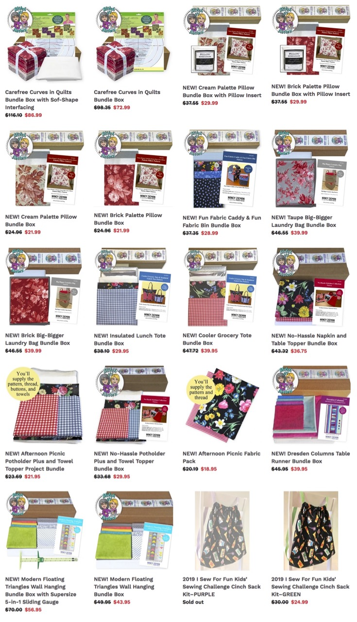 Shop NEW Sewing Kits and Quilting Bundle Boxes at ShopNZP.com