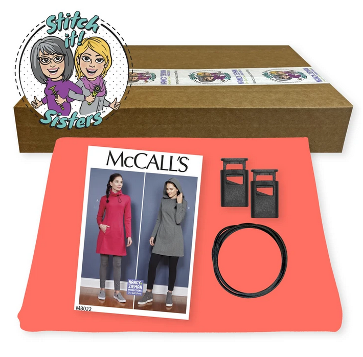 10-20-30 Minutes to Sew a Tunic Bundle Box in Coral as seen on Stitch it Sisters Program 114