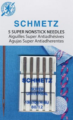 Schmetz Size 80/12 Super Nonstick Sewing Machine Needles available at ShopNZP.com