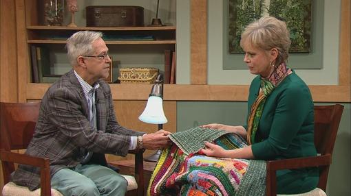 Henry Drewal Siddi Womans Quilt Co op of India on Sewing With Nancy Interview with Nancy Zieman on Nancys Corner