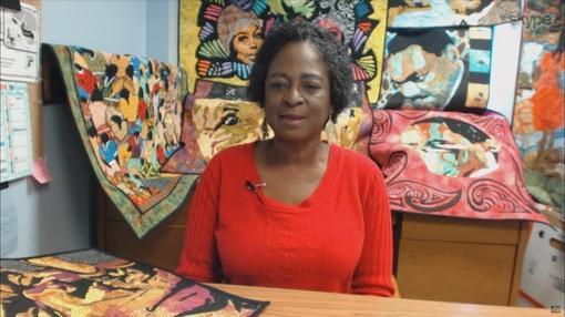 Watch Nancy Zieman's Interview on Sewing With Nancy with guest Lola Jenkins and her Portrait Quilts