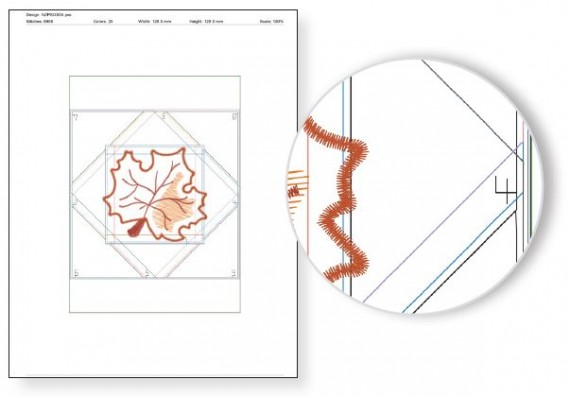 NEW! Exclusive Quick Quilting in the Hoop: Fall Leaves Embroidery Collection and Book available at ShopNZP.com