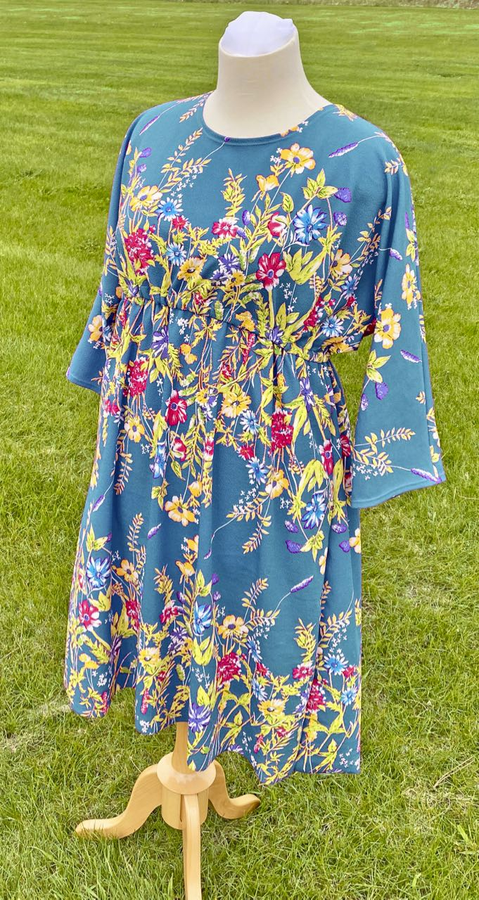 Sew a Quick Spring Tunic with Nancy Zieman's McCall's M7353 Dress Pattern and NEW! Crepe Knits available at ShopNZP.comjpg