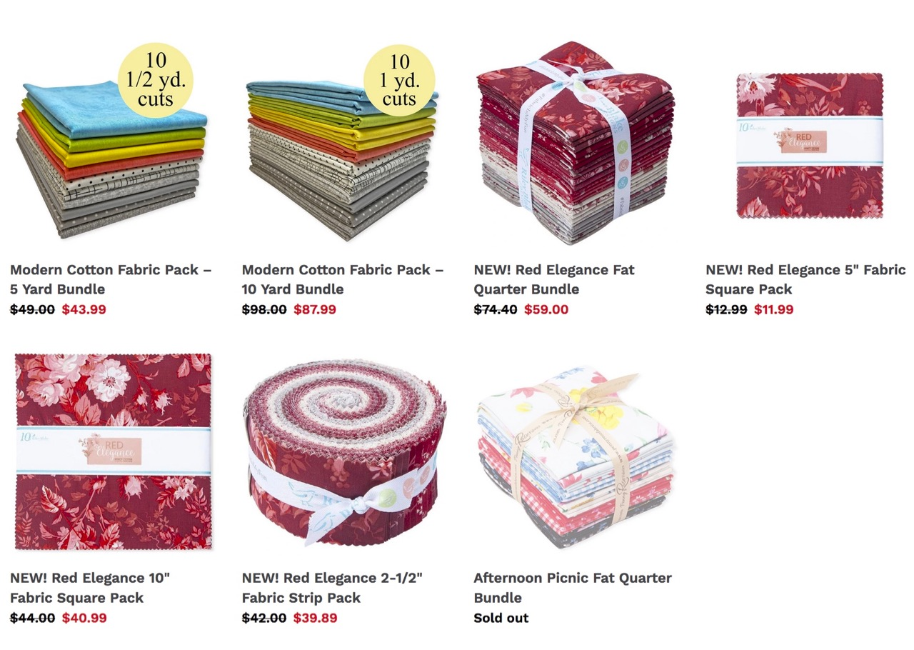 Shop Quilting Cottons and Precut Quilting Fabrics at ShopNZP.com