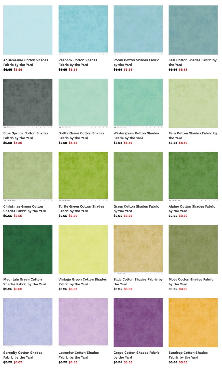 Shop over 60 Riley Blake Shades Fabrics available at ShopNZP.com