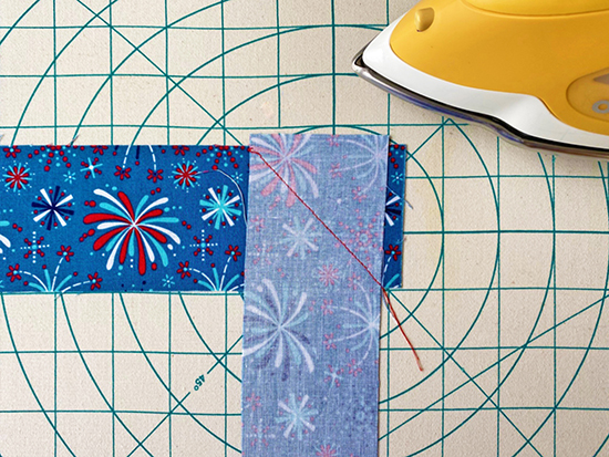 Patriotic Table Topper Sewing Tutorial at Nancy Zieman Productions Blog