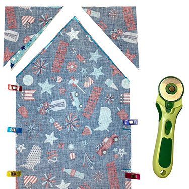Pellon Wrap-N-Zap Baked Potato Zapper Bag and Veggie Steamer Bag Sewing Tutorial on the Nancy Zieman Productions Blog