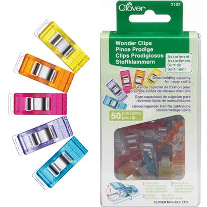 CL3183 08 Rainbow Wonder Clips Assortment