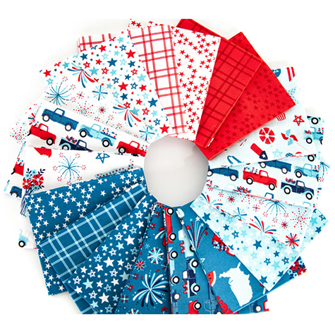FQ 9300 18 26 Fireworks Freedom Fat Quarter Bundle1
