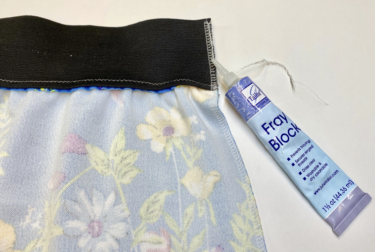 Learn how to sew a simple One-Seam Skirt by The NZP Team at the Nancy Zieman Productions Blog.