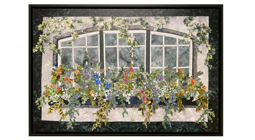 Nancy Zieman Original Giclée Canvas Landscape Art Print: NEW! Natalie's Window