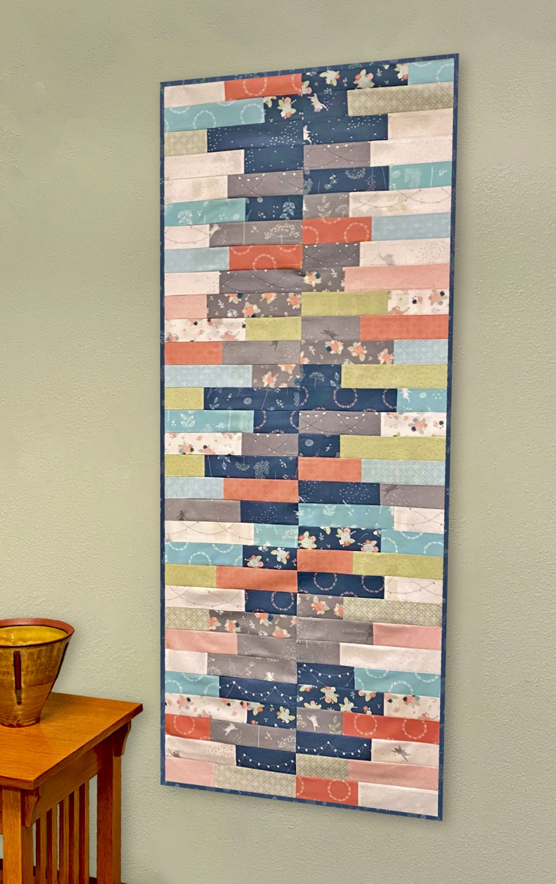 Growth Chart Quilted Wall Hanging Sewing Tutorial Video by The Stitch it! Sisters at the Nancy Zieman Productions Blog