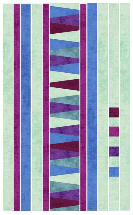 Free! S!S 102 Dresden Columns Table Runner or Wall Hanging Tutorial