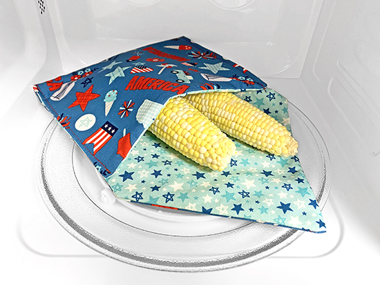 Wrap-N-Zap Baked Potato Zapper and Veggie Steamer Bag Sewing Tutorial at Nancy Zieman Productions Blog