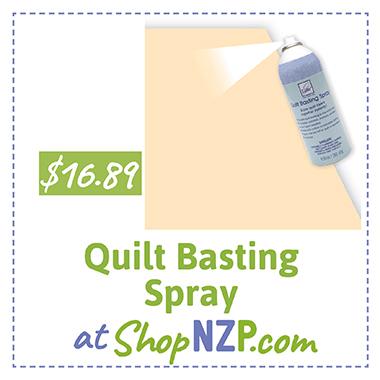 Quilt Basting Spray at ShopNZP.com