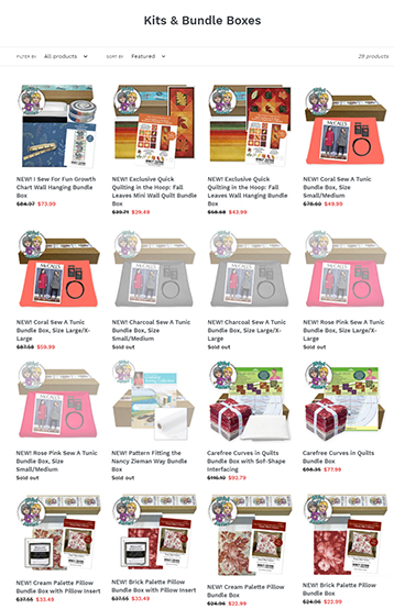 Exclusive Bundle Boxes and Kits available at ShopNZP.com
