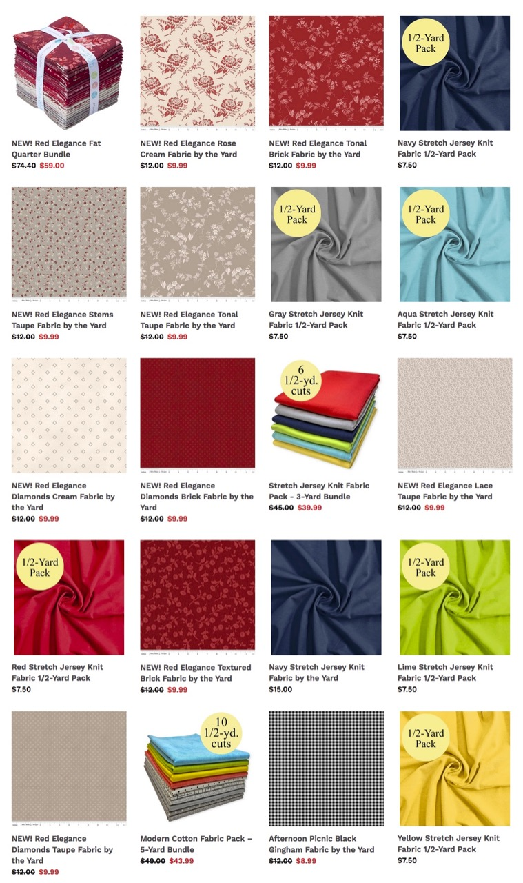 Shop Quilting Fabrics, Find Fashion Fabrics, and Buy Precut Fabric Packs at ShopNZP.com