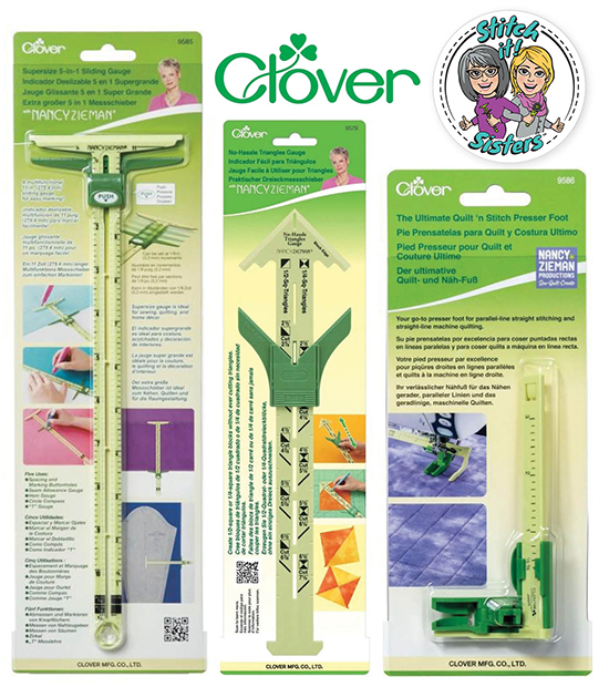 Clover Needlecraft, Inc. Quilter's Ultimate Trio Prize Giveaway at Nancy Zieman Productions Blog Viewer's Showcase 2021