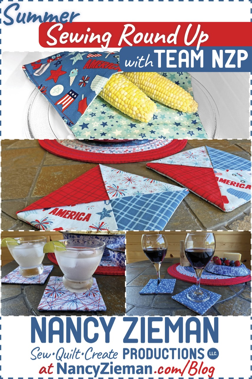 Summer Sewing Round Up on The Nancy Zieman Productions Blog