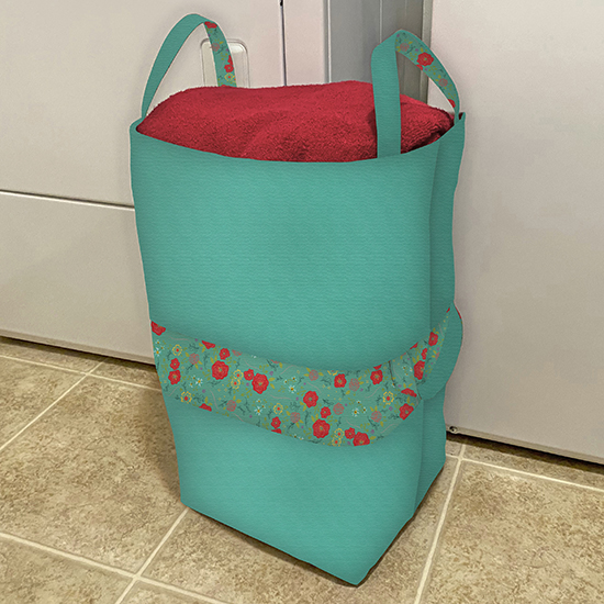 Big-Bigger Laundry Bag Sewing Tutorial