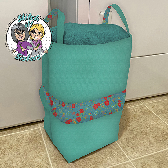 Big-Bigger Laundry bag by the Stitch it! Sisters