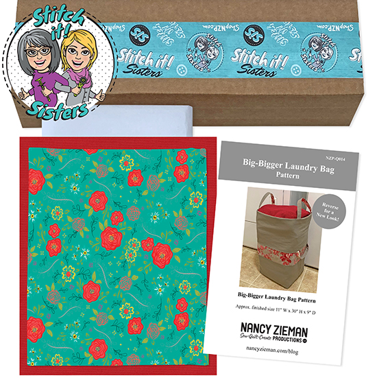 Red Wildflower Boutique Big-Bigger Laundry Bag Bundle Box available at ShopNZP.com