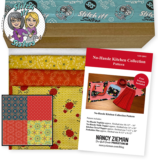 Red Wildflower Boutique No-Hassle Napkin and Table Topper Bundle Box at ShopNZP.com