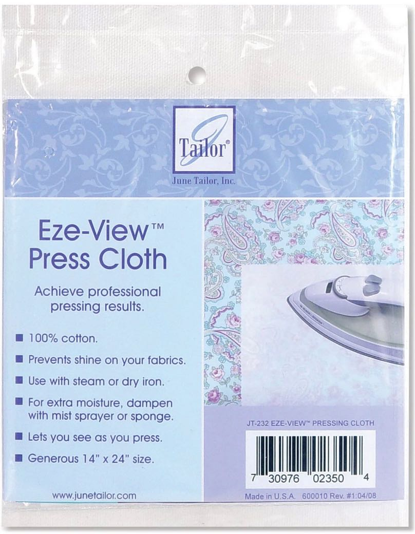 June Tailor's Eze-View Pressing Cloth available at Nancy Zieman Productions at ShopNZP.com