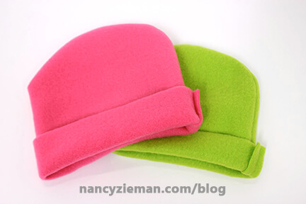 Sew a Heart Shape Hat for Babies in Need   Bringing Hope 2 Others   Nancy Zieman   Sewing With Nancy   Nancy's Corner Segment