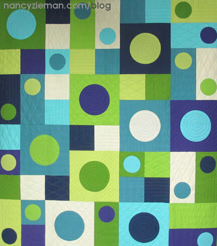 I See Spots Modern Quilt Pattern by Nancy Zieman/Sewing With Nancy